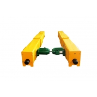 China EOT Crane End Carriage With Three In One Motor for sale