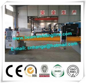 Quality CNC Plasma Cutting Machine In H Beam Welding Line , Plasma Flame Cutting Machine for sale