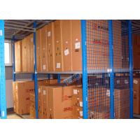 Best Hot Dip Galvanized Steel Automotive Rack With Multi Layer Mezznanine Floor wholesale