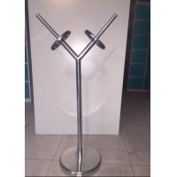 Commercial Stainless Steel Products Metal Shopping Bag Display Stand