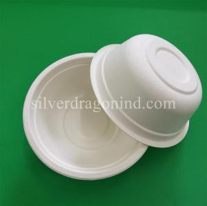 Best Biodegradable Disposable sugarcane pulp Paper Bowl, food grade ,Professional Manufacturer wholesale