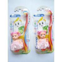 China Child Carton Toothbrush With doll on sale