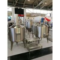 Quality 200L Craft Commercial Micro Brewing Equipment For Brewpub Or Restaurant for sale