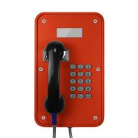 Quality Vandal Resistant Industrial VoIP Phone Weatherproof With LCD Display Screens for sale