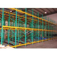 Best Heavy Load Dynamic Flow Pallet Rack Q235B Steel Storage Racking For Cold Supply Chain wholesale