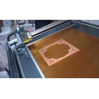 Quality Decorative frame paperboard cnc cutting machine for sale