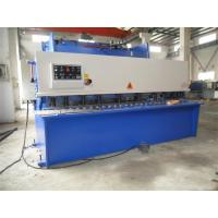 China CNC Hydraulic Swing / Guillotine Beam Metal Shearing Machine For Construction Field on sale