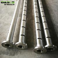 Quality High Bore Hole Stability Slotted Pipes For Borewell for sale