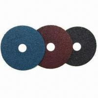 Quality Fiber Discs, Sanding Disc Made of Aluminum Oxide, Silicon Carbide and Zirconia for sale