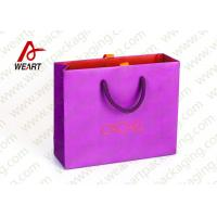 Best Pink Holiday Goodie Christmas Paper Bags No Minimum Hot Foil LOGO wholesale
