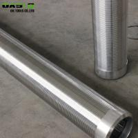 Quality Stainless Steel 304L Borehole Screen , High Strength Wedge Wire Filter for sale