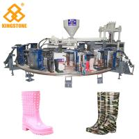 Quality 1/2 color Fully Automatic PVC Farmer boots Injection Moulding machine boot making machine for sale