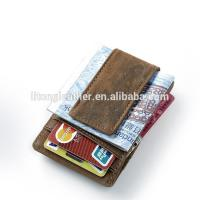 China Design your own cute wallet credit card holder with money clip on sale
