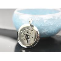 Quality Stainless Steel Essential Oil Jewelry Diffuser Necklace Locket Pendant for sale