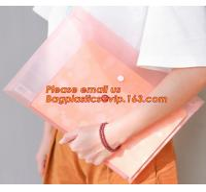China Promotional plastic PP waterproof paper files folder a4, Stylish PP a4 file folder, A4 felt document bag file folder on sale
