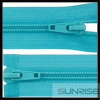 China High quality white seperating ykk wholesale nylon zippers for bedding sheet on sale