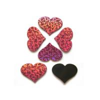 Quality Ersonalized Heart Fridge Magnets Set , Customized Funny Red Kids Magnets For The Fridge for sale