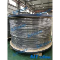 Quality 12.7 x 1.65mm Alloy 825 / N08825 Welded Coiled Tubing BA Surface for sale