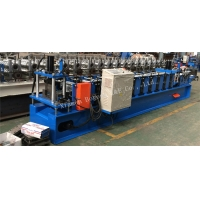 Quality 10 Station 5.5KW Purlin Roll Forming Machine For U Shape Steel Profile for sale