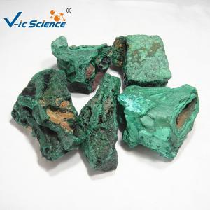 China Malachite Teaching Rock Specimens Natural Rare Mineral Specimens Malachite on sale