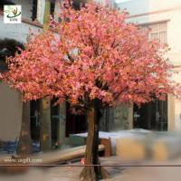 Best UVG CHR007 Wedding Decoration Artificial Cherry Blossom Trees Pink color wholesale