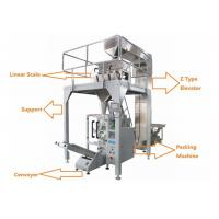Quality Automatic Roasted Salted Peanut Packing Machine With 4 Heands Weigher for sale