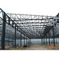 Mining Storage PEB Structural Steel Framing Prefabricated Fast Erection Corrosion Resistance
