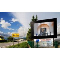 Quality P20 static outdoor advertising led display board with Iron / Aluminum Cabinet for sale
