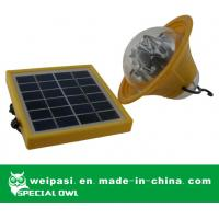 China Portable Solar LED Lantern Solar Camping Light for Outdoor Use(SL-143) on sale