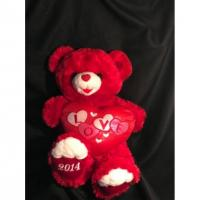China Eco Friendly Holiday Plush Toys , Sweetheart I Love You Teddy Bear Gift For Her on sale