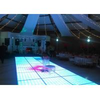 Best Disco Interactive LED Dance Floor For Decoration , Wedding Dance Floor Hire Acrylic Material wholesale
