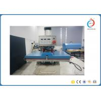 Quality Pneumatic Single Station Sublimation Heat Press Machine Semi automatic for sale