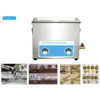 Quality 300W 6.5L Mechanical Ultrasonic Cleaner For Musical Brass Instrument for sale