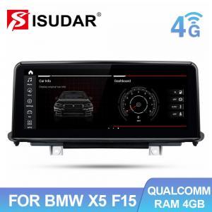 Quality BMW X5 F15 Qualcomm Snapdragon Car Multimedia Player Single Din for sale