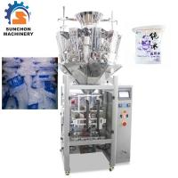 Quality Multihead Weigher Automatic Ice Cube Packing Machine Simultaneous Control for sale