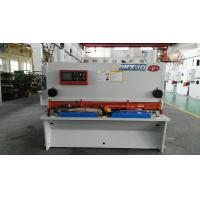 China Hydraulic Drive H13 / D2 Balde NC Guillotine Shear For Thick Steel Cutting on sale