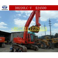Quality Used DAEWOO DH220LC-V Excavator/DAEWOO DH220LC-V for sale