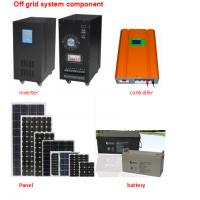 China 3000W Home Solar Heating System Photovoltaic Battery Module Fit All Weathers on sale