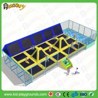 China Factory price outdoor&indoor large trampoline park for sale,trampoline for amusement park on sale