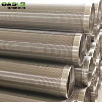 Quality 4 Inch Dia Stainless Steel Well Screen Pipe 1.5 - 10mm Thickness For Water Well for sale