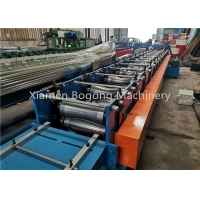 Quality Roof Metal Ridge Cap Roll Forming Machine 18 stations Roll Forming for sale