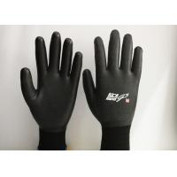 Quality 15 Gauge Nylon Latex Coated Gloves Excellent Breathability EN388 Certificated for sale