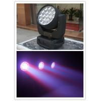 Buy cheap High Brightness 19pcs Led Wash With Zoom Beam Moving Head Light from wholesalers
