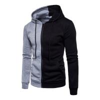 Buy 2018 Autumn Fashion Casual Patchwork Hoodies Men Women Hooded Sweatshirt Slim Fit Pullover Hoody Leisure Zipper Jacket T at wholesale prices
