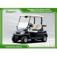 Quality Black Curtis Controller Electric Golf Buggy With Italy Graziano Axle for sale