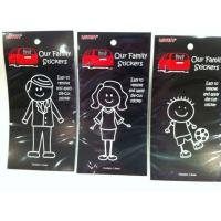 Quality Funny Family Car Stickers,Cool Family Car Sticker,Decorative Car Sticker for sale