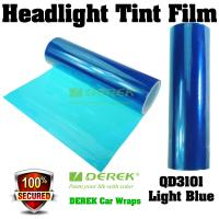 Quality Car Headlight Tint Film 3 layers 0.3*10m/roll - Light Blue for sale