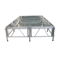 Quality Outdoor Concerts Entertainment Aluminum Stage Platforms Easy Assemble for sale