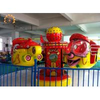 Quality Big Eye Plane Kids Amusement Ride Accommodates 8 People 4 X 4 Meter Area for sale