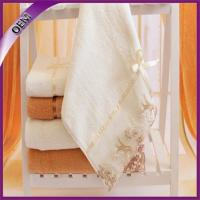 Quality best selling embroidery luxury quality bath towel 100% cotton for sale